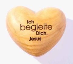 Handschmeichler Herz Ich begleite dich Jesus