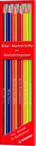Bibel-Markierstifte mit Anstreichsystem