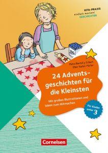 24 Adventsgeschichten für die Kleinsten Bartoli y Eckert, Petra/Tsalos-Fürter, Ellen 9783589150175