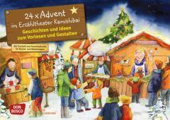 24 x Advent im Erzähltheater Kamishibai Petra Lefin 4260179512995