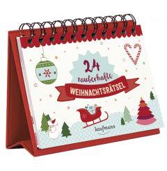 24 zauberhafte Weihnachtsrätsel  9783780613448