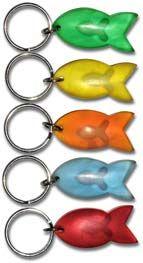 Schlüßelanhänger Fisch in Fisch