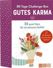 30-Tage-Challenge-Box Gutes Karma Weneit, Sina 9783625188124