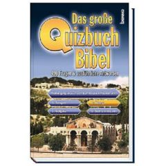 Das große Quizbuch Bibel