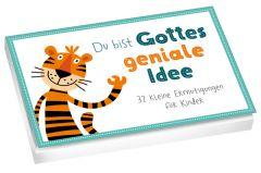 Du bist Gottes geniale Idee - Textkarten