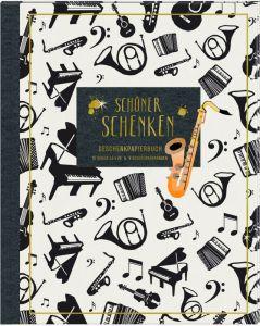 Geschenkpapierbuch Schöner schenken All about music