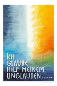Jahreslosung 2020 Motiv Felger 40 x 60 cm Kunstdruck
