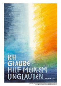 Jahreslosung 2020 Motiv Felger Kunstdruck A4