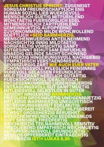 4250454703446 Jahreslosung 2021 - Motiv Jung - Poster A4
