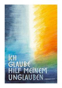 Jahreslosung 2020 Motiv Andreas Felger Postkarte 10er