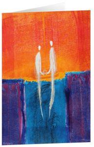 Kunstkarten 'Paarbegegnung'