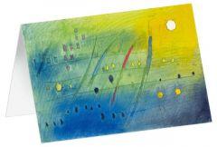 4250454725356 Takt - Kunst-Faltkarten ohne Text (5 Stück)