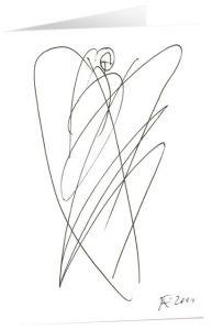 Kunstkarten 'Bote der Liebe' Felger, Andreas 4250454725424