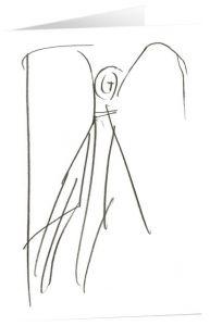Kunstkarten 'Bote der Zuversicht' Felger, Andreas 4250454725462