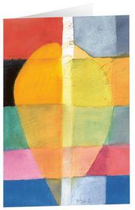 Kunstkarten 'Farbenfroher Bote' Felger, Andreas 4250454725479