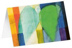 Kunstkarten 'Engel in buntem Gewand' Felger, Andreas 4250454725486