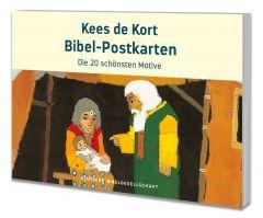 Kees de Kort Bibel-Postkarten
