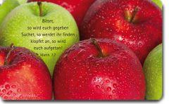 Vesperbrettchen / Frühstücksbrettchen Apfel