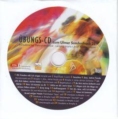 Cover Übungs-CD zum Ulmer Sonderdruck 25