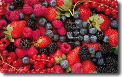 Vesperbrettchen / Frühstücksbrettchen Früchte