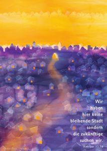Sehnsucht - Kunstblatt 40x66 cm