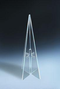 Himmels-Kreuz transparent groß