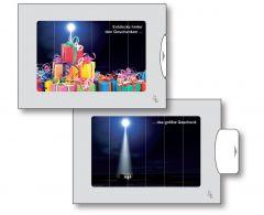 Zwei-Bild-Karte Weihnachten