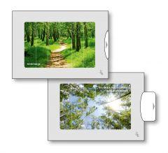 Zwei-Bild-Karte Wald