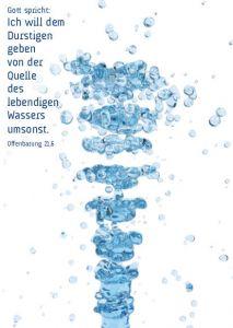 Jahreslosung 2018 - Motiv ungestüm und sanft - Postkarte 10-er
