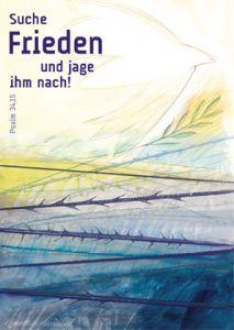 Jahreslosung 2019 - Motiv Neuanfang - Kunstblatt 60 x 90 cm