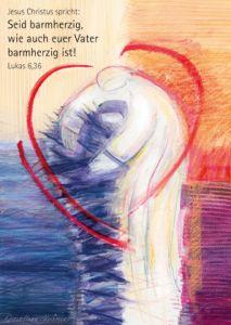 4260175272824 Jahreslosung 2021 - Motiv Dorothee Krämer - Kunstblatt 40 x 60 cm
