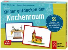 Kinder entdecken den Kirchenraum Gremmelspacher, Carmen/Hitzelberger, Peter 4260179516603