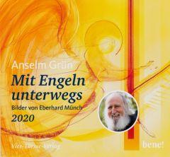 Mit Engeln unterwegs 2020 Grün, Anselm/Münch, Eberhard 4260308357251