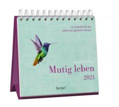 Mutig leben 2021 Wolfers, Melanie 4260308357404