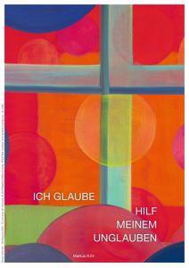 Jahreslosung 2020 Motiv Menneke Kunstblatt 40 x 60 cm