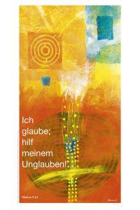 Jahreslosung 2020 Motiv Habedank Kunstblatt 40 x 60 cm