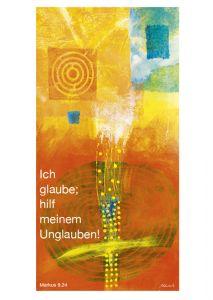 Jahreslosung 2020 Motiv Habedank Postkarte 10er