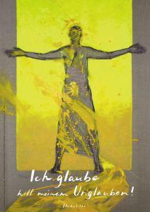 Jahreslosung 2020 Motiv Rave Kunstblatt 62 x 93 cm