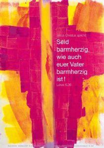 Jahreslosung 2021 - Motiv Menneke - Poster 62 x 93 cm
