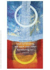 Jahreslosung 2021 - Motiv Habedank - Faltkarten 10er