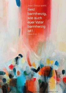 Jahreslosung 2021 - Motiv Waldmann-Brun - Poster 40x60 cm