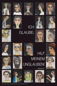 Jahreslosung 2020 Motiv Arndt Kunstblatt 40 x 60 cm