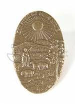 Bronze-Symbol 'Der Herr ist mein Hirte'