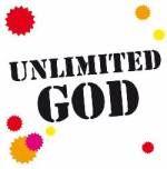 Magnetschild 'Unlimited God'