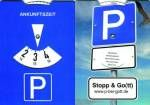 Parkscheibe 'Stop & Go(tt)'