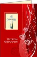 Geschenkkarte 'Herzlichen Glückwunsch'/k
