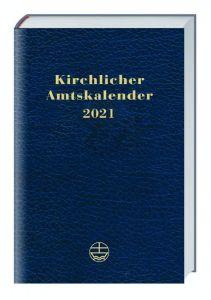 9783374062676 Kirchlicher Amtskalender 2021 - blau