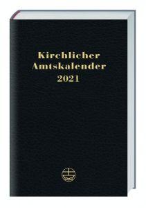 9783374062683 Kirchlicher Amtskalender 2021 - schwarz