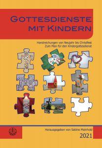Cover 9783374063710 Gottesdienste mit Kindern 2021