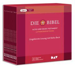 Die Bibel Lutherübersetzung 2017Hörbibel Sprecher Rufus Beck MP3 9783438022264